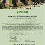 Zertifikat Naturstrom 2017